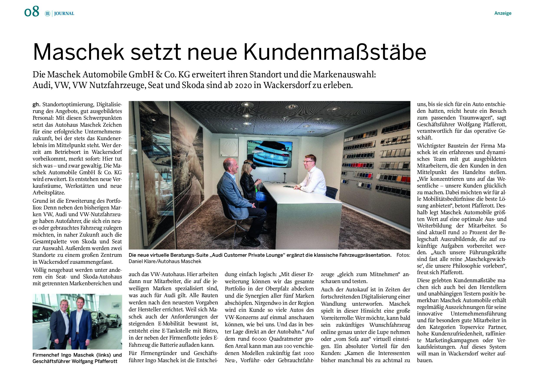Artikel der Mittelbayrischen Zeitung